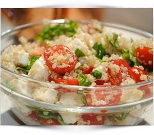 caprese-quinoa-salade