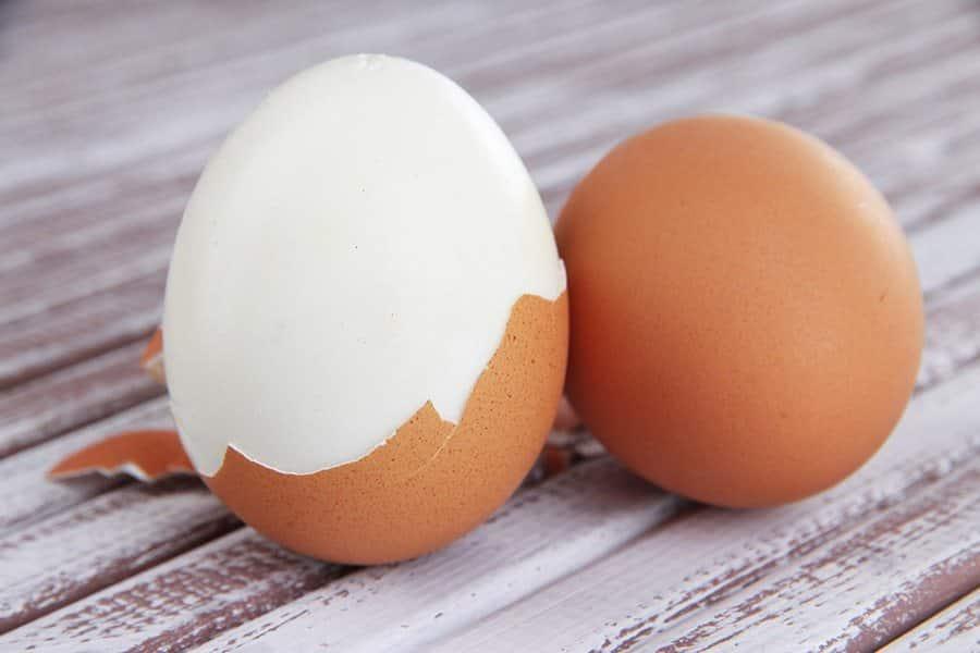 gekookt ei tussendoortje