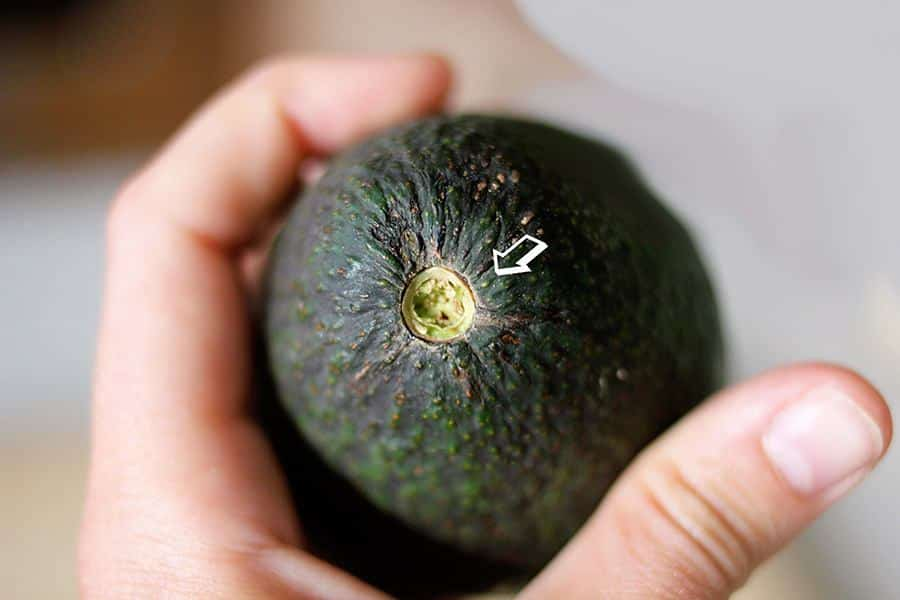 avocado rijp test