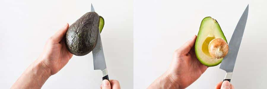 avocado snijden