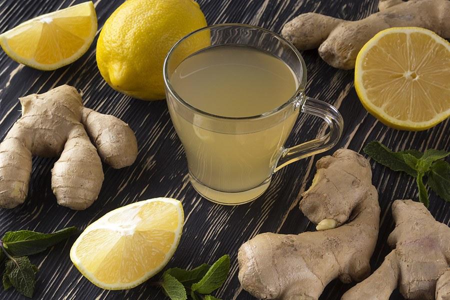 citroensap gember water
