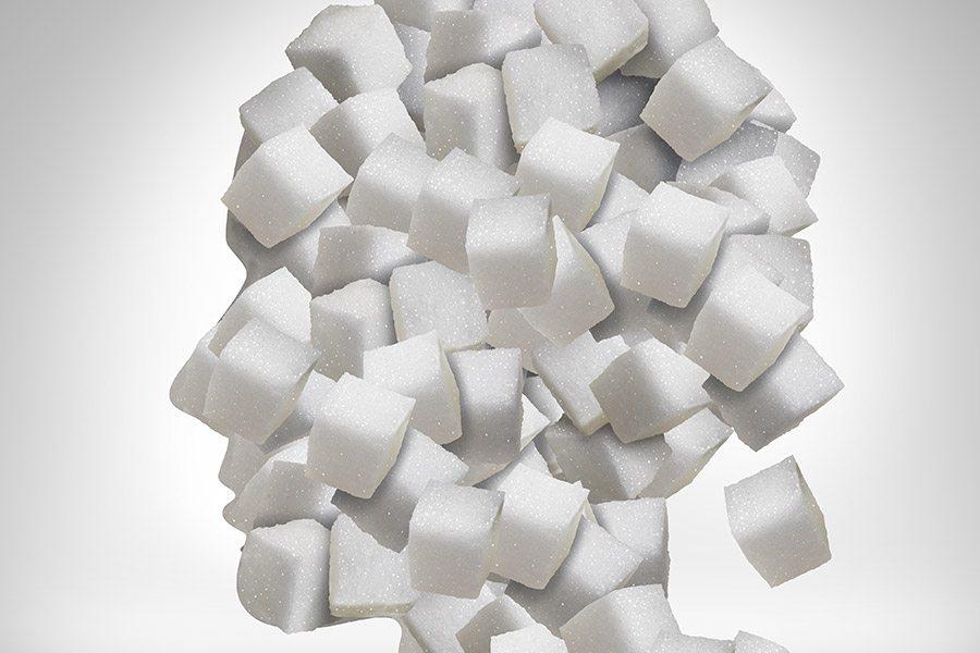 wat gebeurt er in je hoofd als je suiker eet