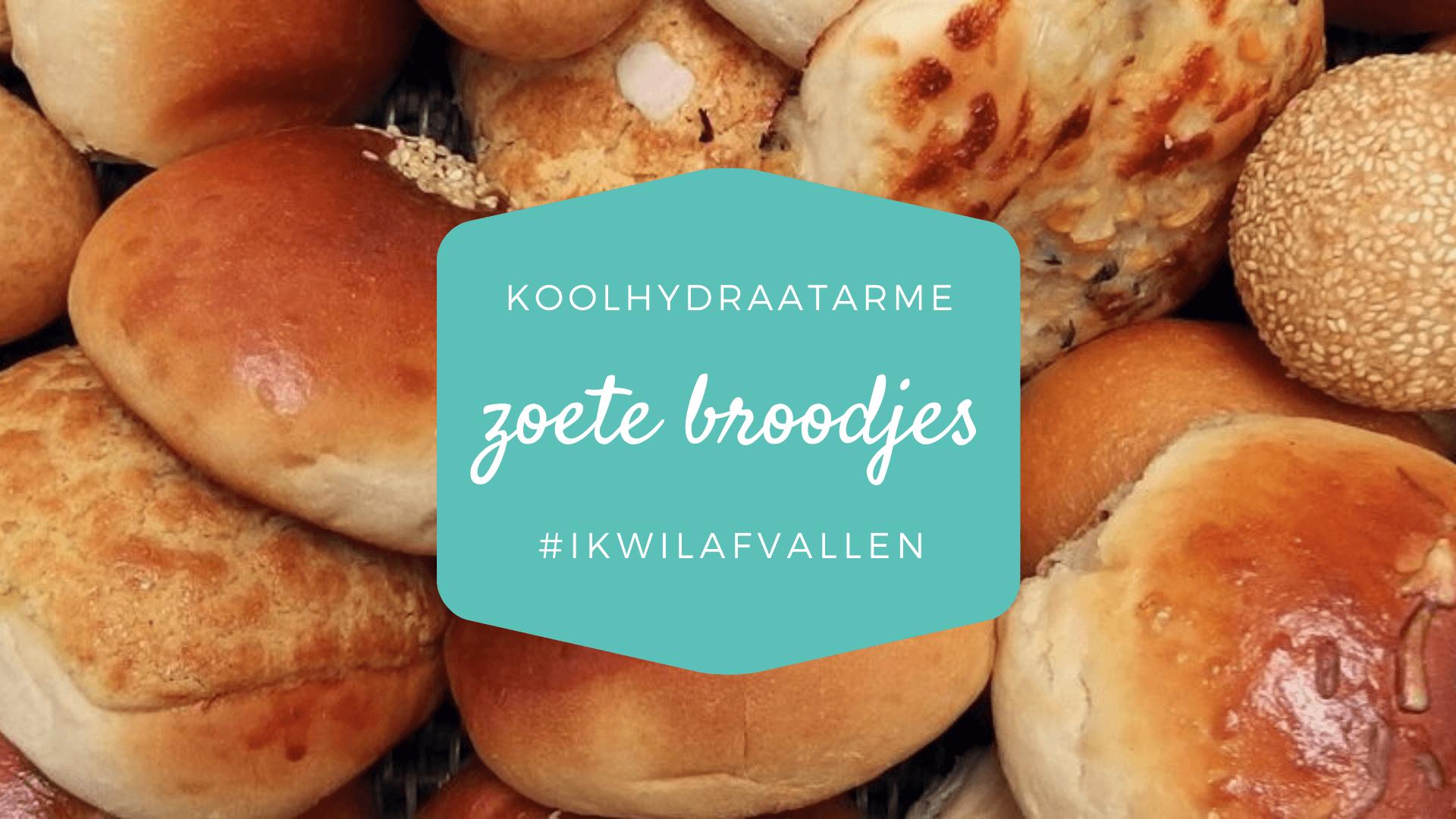 Koolhydraatarme zoete broodjes