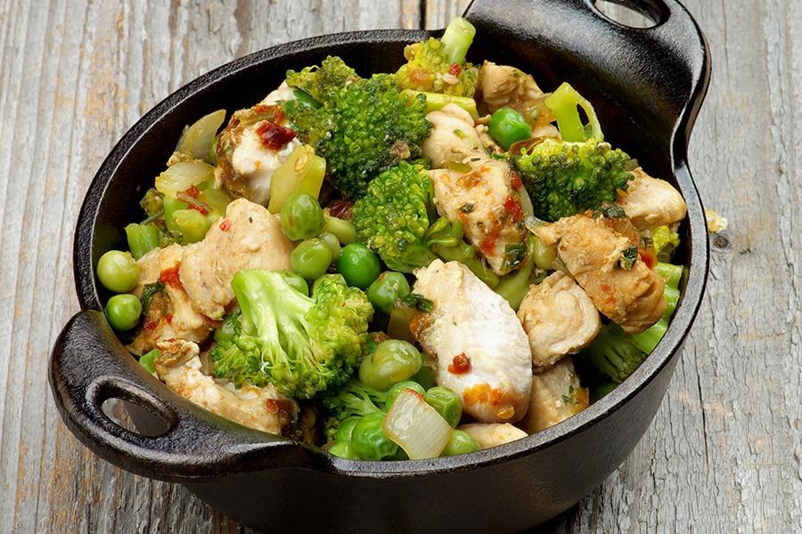 gezond avondeten om af te vallen