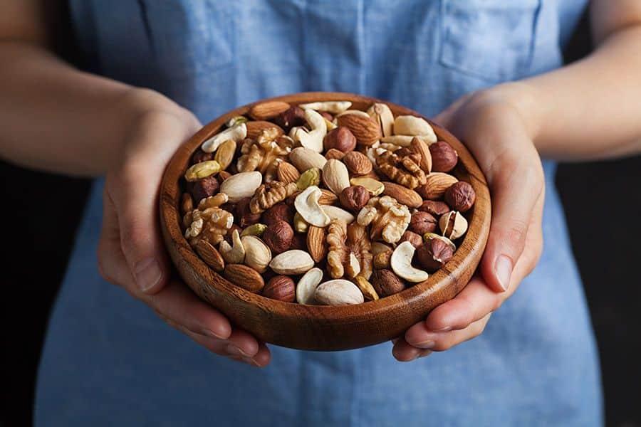 noten eten bij het afvallen