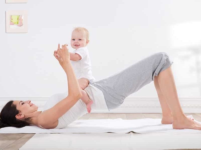 afvallen na de bevalling