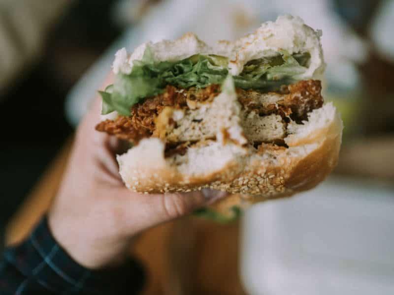 calorieen burger
