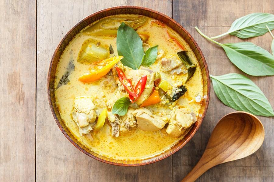 curry met kurkuma