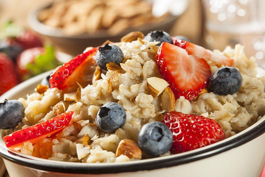 gezond havermout ontbijt recept