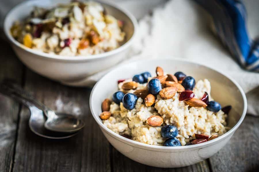 gezond ontbijt zonder brood