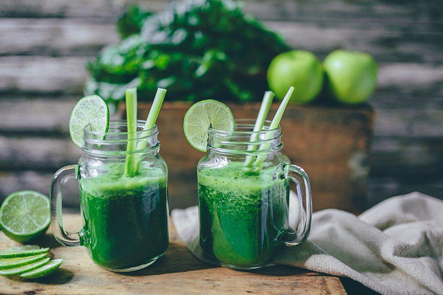 groene smoothie ontbijt recept