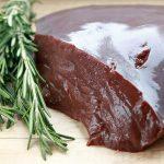 ijzerrijke voeding runderlever