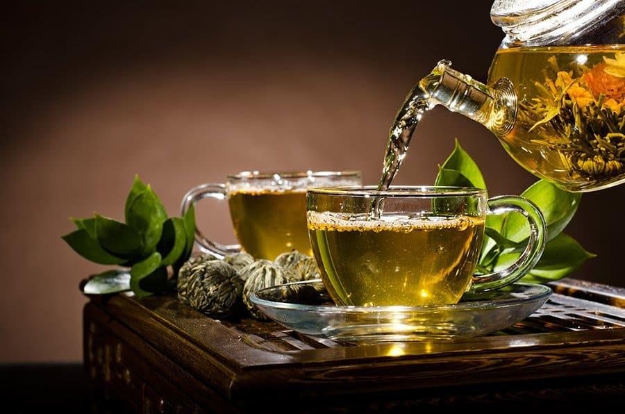 pot groene thee