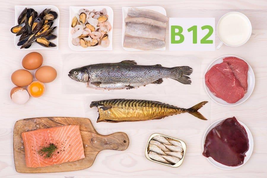 vitamine b12 rijke voeding