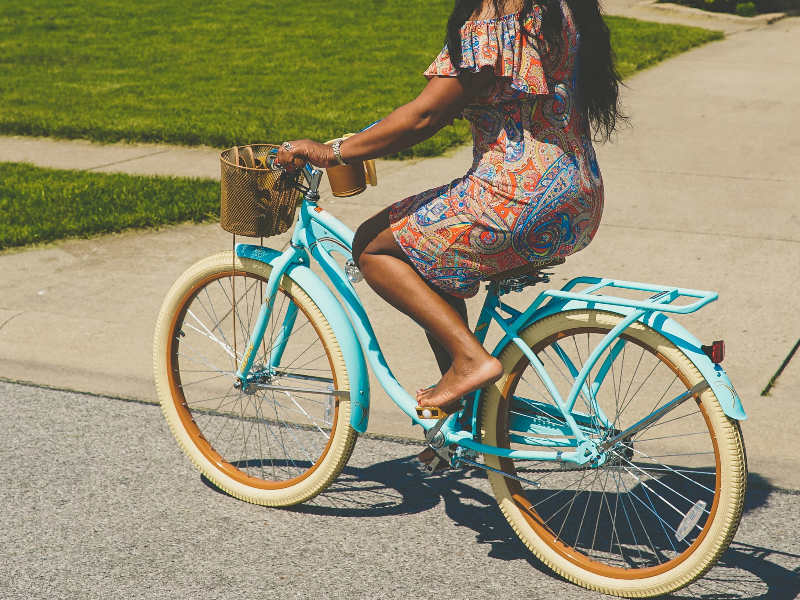 afvallen joggen of fietsen