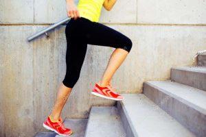 Oefeningen op de trap