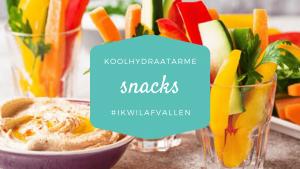 Koolhydraatarme snacks voor een filmavond