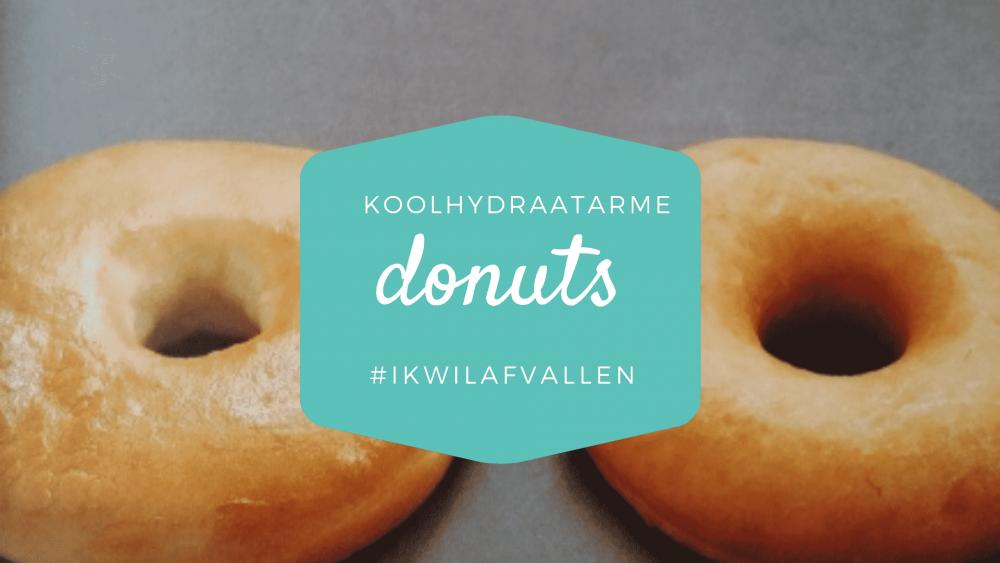 Koolhydraatarme donuts