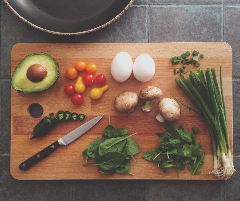 roerei met groenten