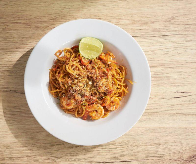 Koolhydraatarme spaghetti
